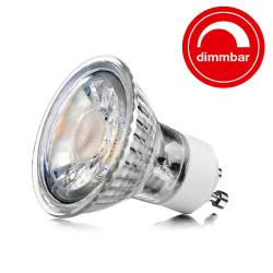 5 Watt LED DIMMBAR Glas Spots  - GU10 - #1311