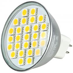 5 Watt  27er SMD LED MR16 /GU5.3 Spot 12V AC/DC